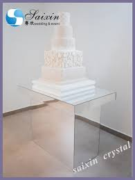 new 6 tiered crystal wedding cake stand for wedding party