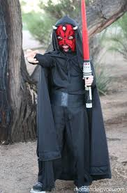 Halloween Darth Vader Costume Diy Star Wars Family Costumes