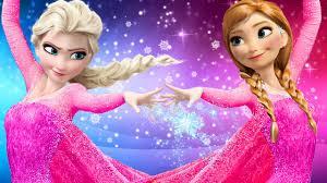 frozen elsa u0026 anna finger family songs pink spidergirl elsa