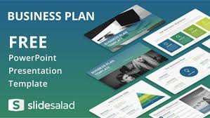 business plan free presentation design for powerpoint