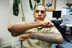 what is the current tattoo policy in the marine corps rallypoint