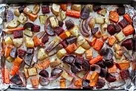 roasted root vegetable recipe how diet effects our physical and