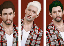 sims 3 men custom content the sims 3 custom content male hair downloads the sims pinterest