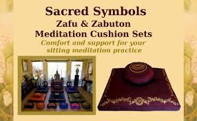 meditation cushion sets zafu zabuton meditation cushion sets