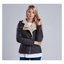 barbour ladies matlock waxed jacket barbour rustic natural jacket