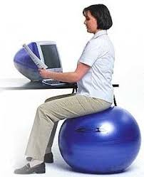 Desk Chair Workout 10 Reasons To Use An Exercise Ball As Your Chair Gearfire Tips