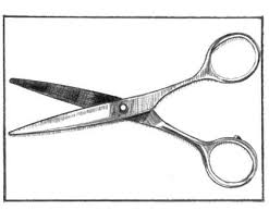 hair scissors drawing clipart panda free clipart images