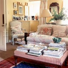 Country Style Living Room Furniture El001 26 Country Style Living Room With Floral Fabric