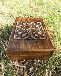 wooden jewelry carved handmade balinese home decor indian floral