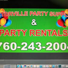 party rentals victorville victorville party supplies 14 photos party supplies 15330
