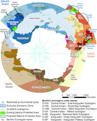 Southern Ocean Map A Hierarchical Classification Of Benthic Biodiversity And