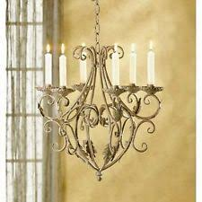 Antique Iron Chandeliers Iron Antique Chandeliers Fixtures U0026 Sconces Ebay
