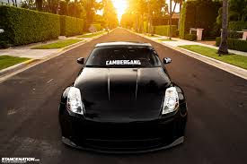 custom black nissan 350z tenacious z luis u0027 low nissan 350z stancenation form