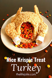 quick thanksgiving dessert recipes best 25 rice krispie turkey ideas on pinterest thanksgiving