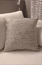 grey textured stripes pillow scandinavian handmade ethical throw