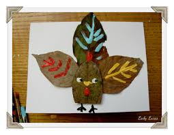 thanksgiving turkey table cards tutorial of crafts