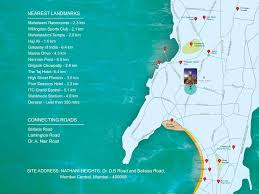 Grand Central Map Nathani Heights In Mumbai Central Mumbai By Nathani Group Real