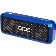 black friday bluetooth speakers 808 hex xs portable bluetooth speaker blue walmart com