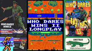 Last Poster Wins Ii New - amstrad cpc who dares wins ii longplay review youtube