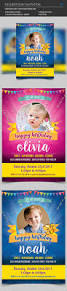 kids birthday invitation by madridnyc graphicriver