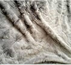fur throws for sofas silver fox faux fur throw throws