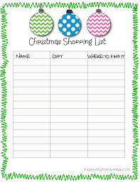 christmas gift shopping list the 1 way to get your shopping act together christmas