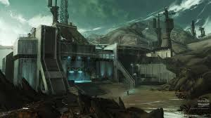 microsoft halo reach wallpapers buildings halo reach digital art concept artwork wallpaper 114913