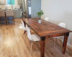 Dining Table Rustic Barn Wood Table Etsy