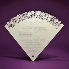 Laser Cut Wedding Programs 177 Best Wedding Signs And Programs Images On Pinterest Fan