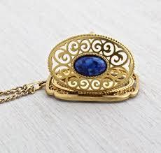 vintage blue stone necklace images 29 best avon jewelry images vintage avon vintage jpg