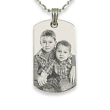personalized pendants personalized stainless steel photo dog tag pendant forevergifts