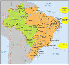 Parana River Map Map Of States Of Brazil The Full Wiki
