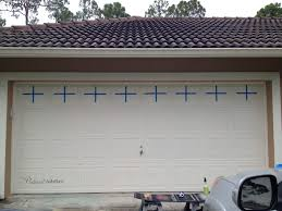 Garage Door Decorative Hardware Home Depot Creating A Faux Carriage Garage Door Pinterest Addict