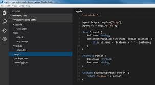 node js node js typescript und visual studio code norbert eder