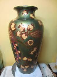 Antique Ceramic Vases Arlea Art Restorer U2022 Large Eosin Vase Ceramic By Zsolnay Ceramic