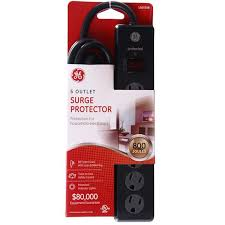 ge surge protector red light surge protector 6 outlet