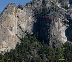 rock climbing routes u0026 photos fifi buttress yosemite national park
