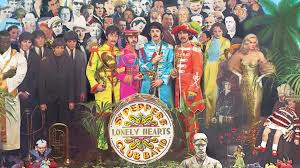 sargeant peppers album cover lennon s sketch of the beatles sgt pepper s album cover is up