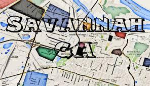 Map Of Savannah Ga Savannah Ga Hoods Map W Areas Of Savannah Ga Gangs And More