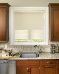 Window Treatments In Kitchen - what u0027s the right way to hang roller shades