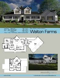1 5 story modern farmhouse plan walton farms