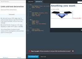 Text Decoration Html Text Decoration None Bug 7 Css An Overview Codecademy Discuss