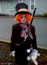 Mad Hatter Halloween Costume Diy Mad Hatter Costume Boy