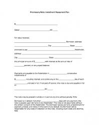 installment promissory note template free promissory note with installment plan business forms
