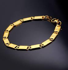 mens gold hand bracelet images Rock star hand chain gold bracelet for men fashion jewelry 316l jpg