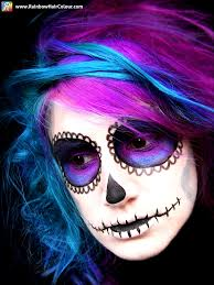 temporary hair color for halloween halloween hair archives rainbow hair colour