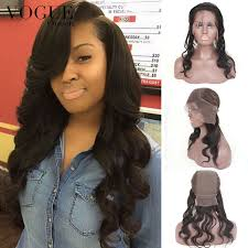 hair braid for a closure grade 7a brazilian hair 360 lace frontal with cap body wave virgin