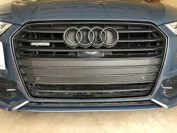 audi rings black audi rings and exhaust covers audiworld forums