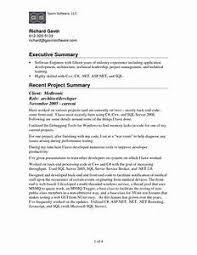 Doc 12751650 Good Objective For Resumes Template - executive summary exle resume pointrobertsvacationrentals com