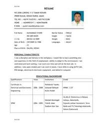 Appropriate Resume Format This Page Has Includes A Graduate Student Resume Example For A Ph